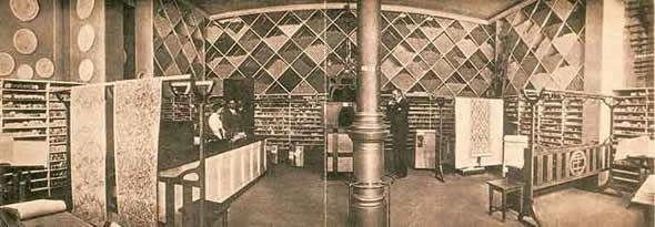 Tapetbutik i Göteborg och online hos Engelska Tapetmagasinet | 1800-tal | Butik | Historisk | Inredning | Göteborg | Orac Decor | Wallpaper | Gothenburg | Interior Shop |