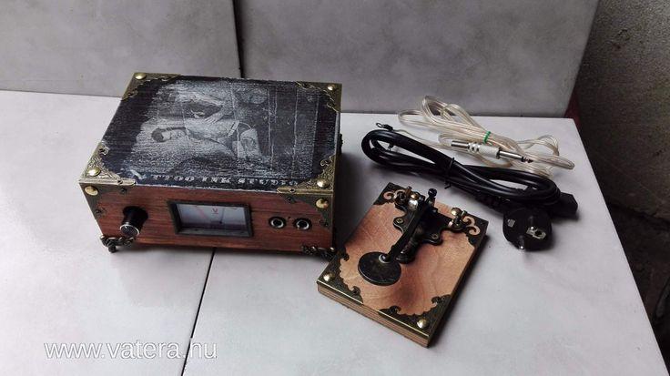Tetováló gép retro tápegység - Tetoválógép - Szépségápolási kisgép