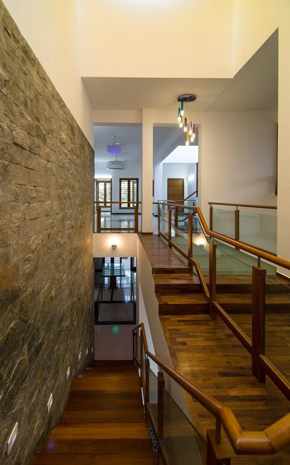 Pin By Murali Architects On Mrs.u0026Mr. REKHA THANGAPPAN RESIDENCE AT JUHU  BEACH, KAANATHUR, EAST COAST ROAD, CHENNAI | Pinterest | Villa Design And  Staircases