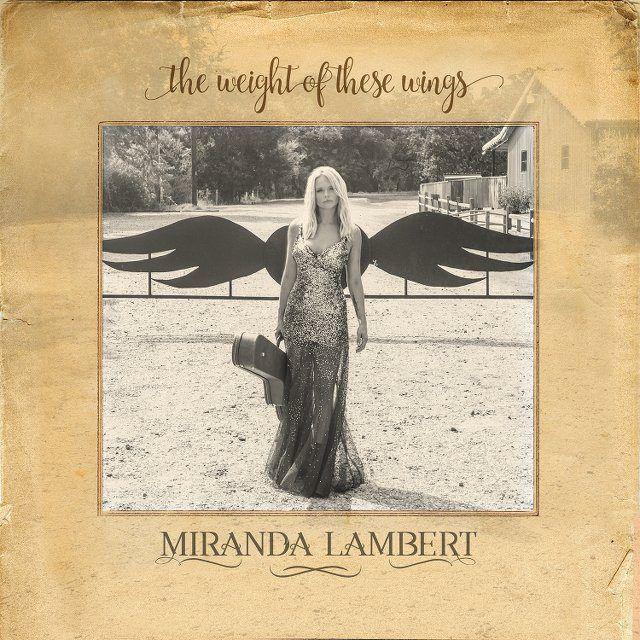 Miranda Lambert Reveals Album Art for 'The Weight of These Wings'