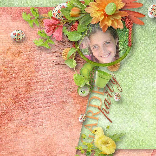 Digital Art :: Element Packs :: Garden party elements by Designs by Brigit