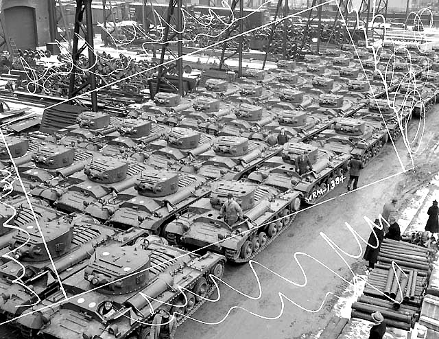 Canada not only equipped it's own military, with guns planes and ships, but we built all of that for other nations, such as the Indian army who were completely equipped with Canadian made trucks, or the British army that by 1945 was 70 percent equipped with Canadian made rifles and machine guns. We also supplied the Chinese army that was fighting the Japanese in the far east. We built supply ships and naval escort vessels here that were the main life line of food to the U.K.