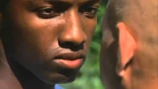 You do not want to piss off Marlo Stanfield....you get one weak smile from 3:40 - 3:42