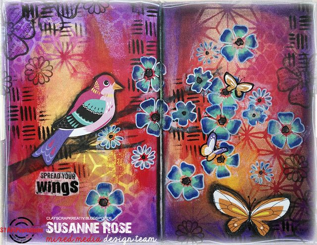Art Journal Page Tutorial                                                                                                                                                                                 More