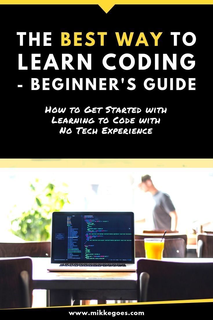 The Best Way to Learn Coding – Beginner's Guide