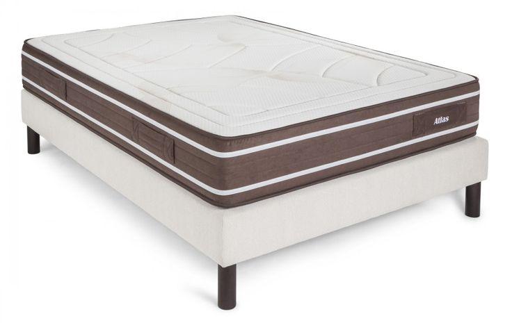 #Colchón Atlas indicado para personas con sobrepeso que buscan firmeza en la tumbada.  #ColchonesGamaAlta #Bedrooms