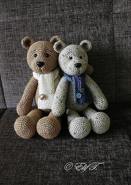 31 best Crochet Teddies images on Pinterest