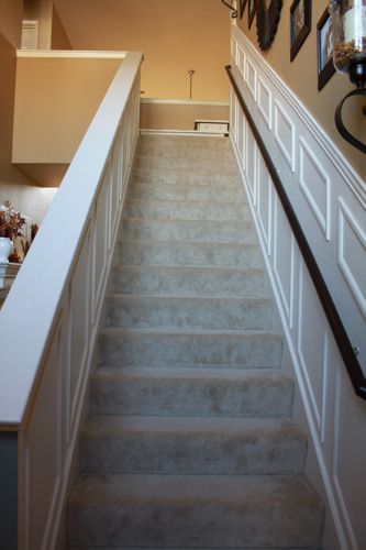 Best Staircase Makeover Staircases And Half Walls On Pinterest 400 x 300