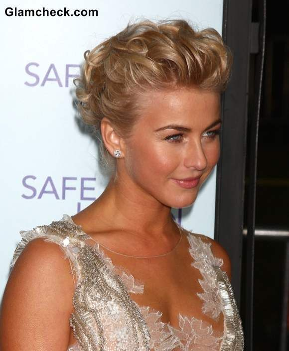 Julianne Hough 2013 updo hairstyle