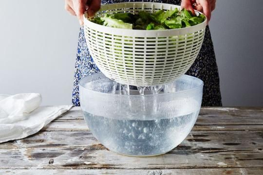 If you can make room in your heart (and your fridge) for this method, your salad greens will last weeks (!) longer than they do now.
