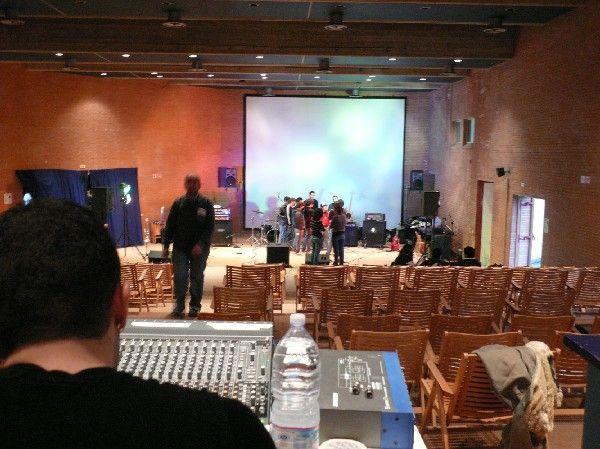 Teatro - Auditorium la Vela di Urbino - Polo Universitario