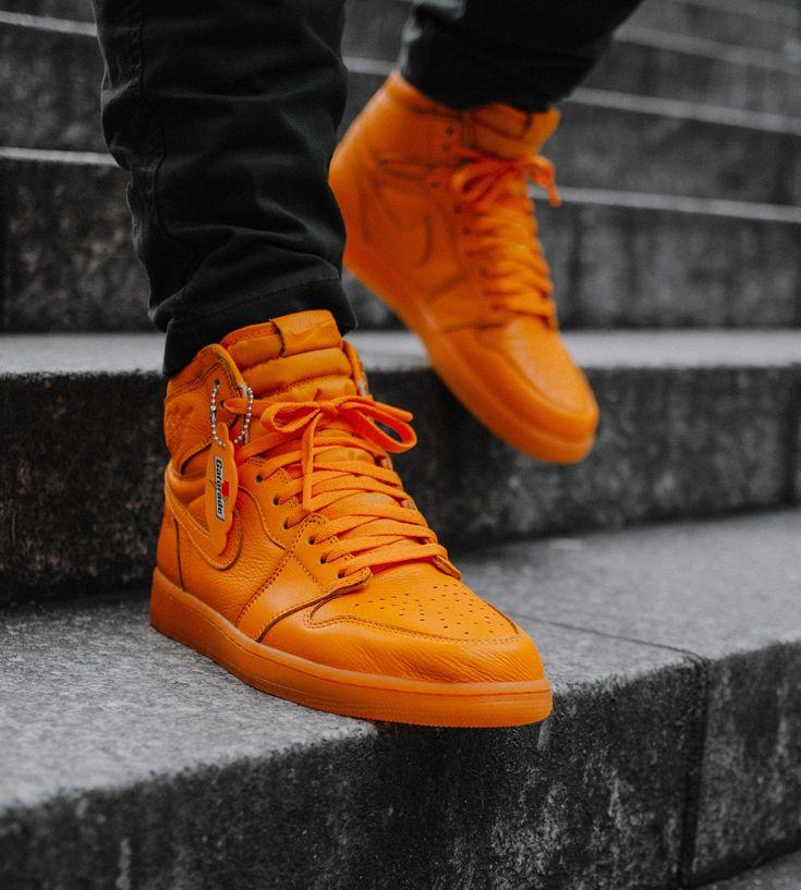 Blue And Orange Jordans Shoes