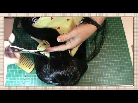 Parte 7/7 Tutotial Gorjuss - Parte Final - Ponemos el pelo y los zapatos - YouTube