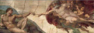 Michelangelo: Creazione di Adamo (1000 Piece Panoramic Puzzle by Ricordi)