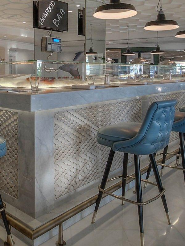 Geales Restaurant,Le Royal Meridien Hotel, Dubai/Giles Miller Studio.