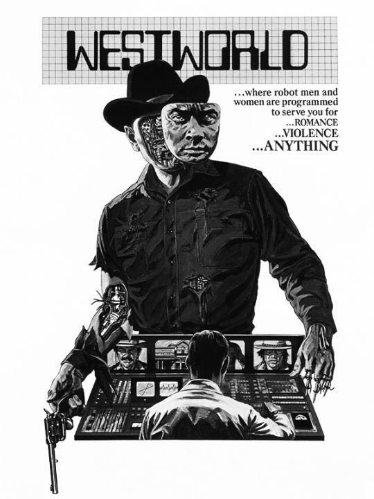 Kindle 4 Screensaver: Westworld trade paperback