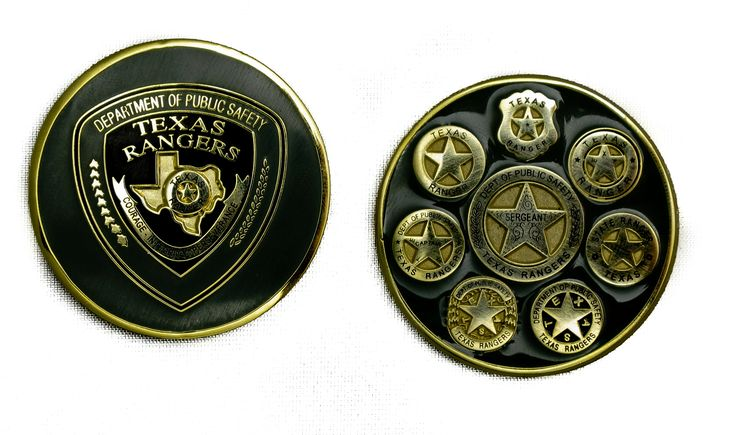 texas ranger challenge coin