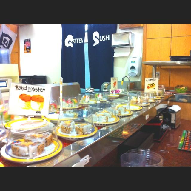 Gatten revolving sushi bar
