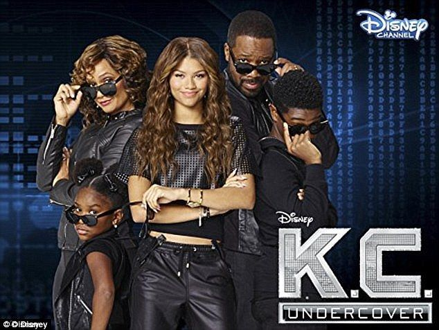 Career woman: Zendaya recently returned to the Disney Channel with her spy series KC Undercover and revealed to Cosmopolitan she only reason she returned was due to 'more power'