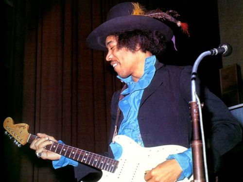 Jimi: Blues (and purples I guess)