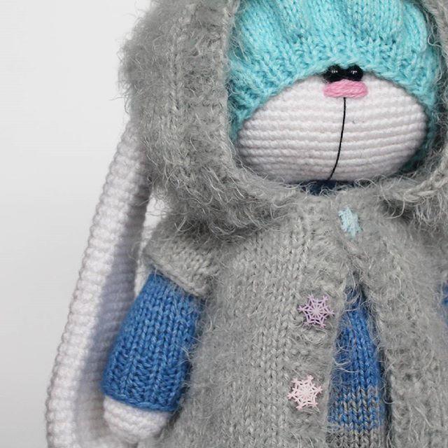 WEBSTA @ isaeva_toys - Её зовут Настенька  помните, как в сказке Морозко! Она добрая, ласковая и такая нежная! очень приятно держать в руках  Рост 35 см  не продаётся (Автор идеи Бэла Макаева)