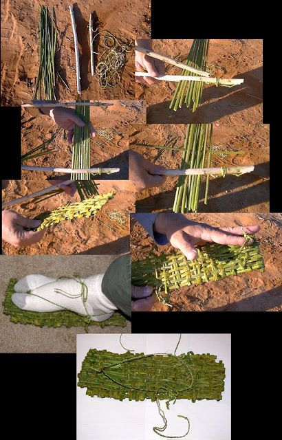 #DIY Leaf Survival Shoes #Survival #Preppers
