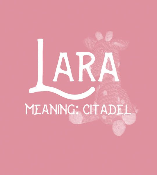 Lara - Sweet and Strong Dutch Baby Names for Girls - Photos