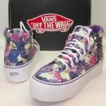 Vans Off The Wall rrfc2a scarpe sneaker sportive lacci shoes roses lilly 40