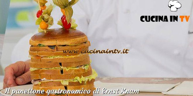 Panettone gastronomico ricetta Ernst Knam