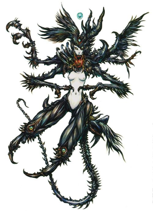 High quality version of Keita Amemiya's Lilith from SMTIV, because it apparently didn't exist online.
