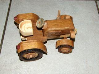 Ein #tolles #Spielzeug für #Groß und #Klein  #heimwerken #Holz #Traktor #mach_mal_de