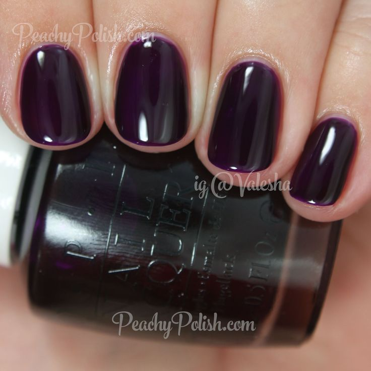 OPI Purple Perspective | Color Paints Collection | Peachy Polish