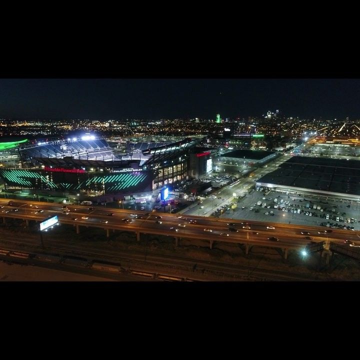 Lincoln Financial Field After Game #lincolnfinancialfield #eagles #eaglesnation #philadelphia #philadelphiaeagles #night #city #cityscape #philly  #drone #dronestagram #drones #dronephotography #aerialview #phantom4pro #djiphantom4pro #flying #aerialphotography