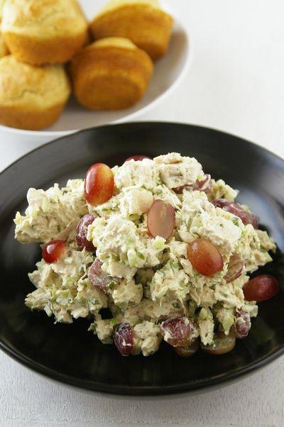 チキンサラダ Chicken Salad : A Taste of The Southern Home アメリカ南部の家庭料理/マヨネーズ マスタード