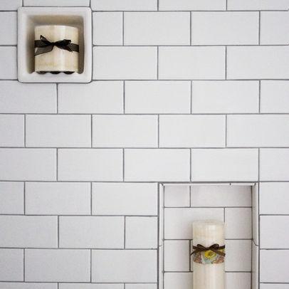 142 Best Bathroom Images On Pinterest Room Subway Tile Showers And Shower Niche