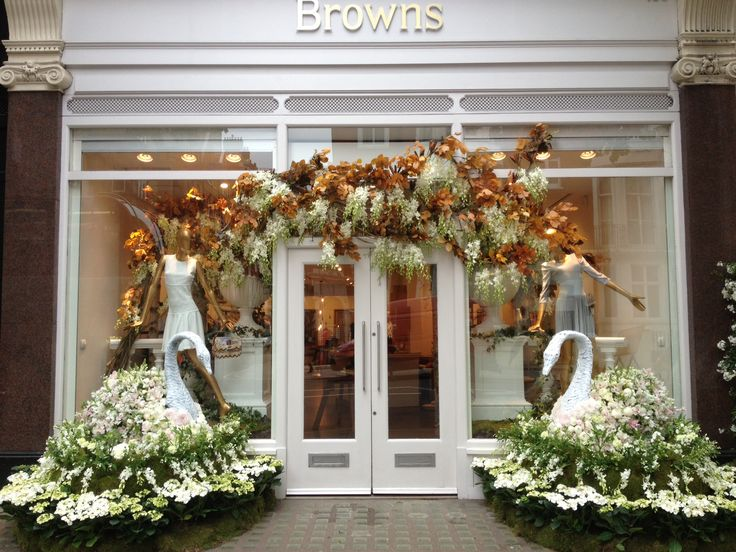 Suspended Orchid and Fall branch - By Appointment Only Design This isn't a flower shop but the display is amazing