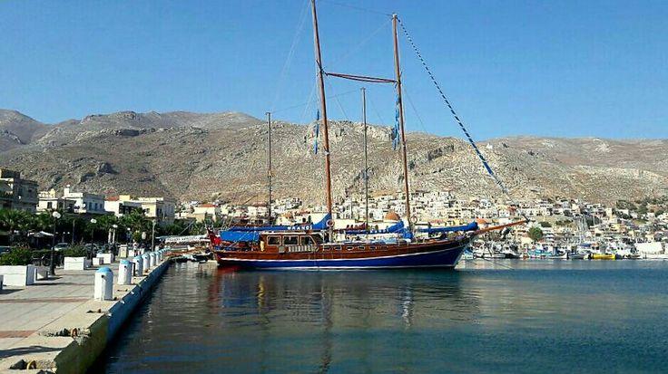 Grandi in Kalymnos harbour