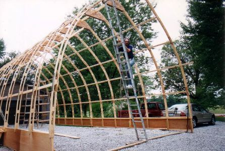 17 Best Bow Roof Shed Images On Pinterest Greenhouses