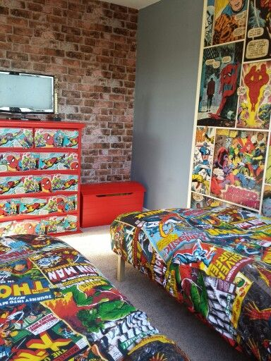 High Quality Boys Marvel Avengers Bedroom