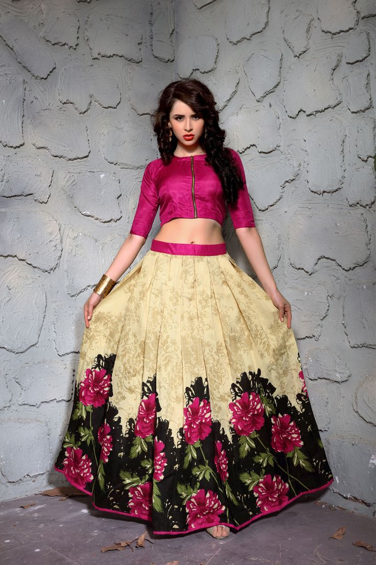 New Multi Color Designer Printed Lehnga Choli