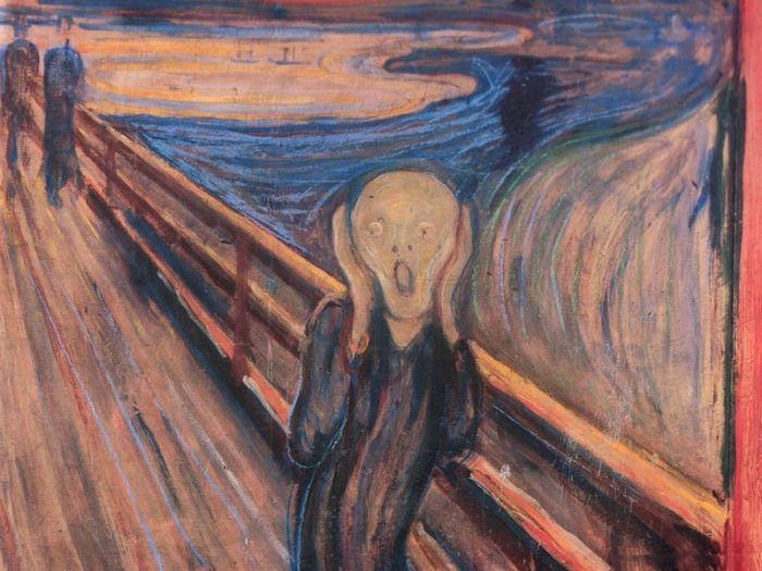 Hola en esta oacsion le s traigo algunas obras del pintor Noruego Edvard munch, su obra mas conocida es el grito. El grito. The kiss. Pubertad. Madonna. Melancolia. Cenizas. Aardecer en el paseo Karl Johan. La madre muerta. Muerte de un bohemio. Love... - pipez97