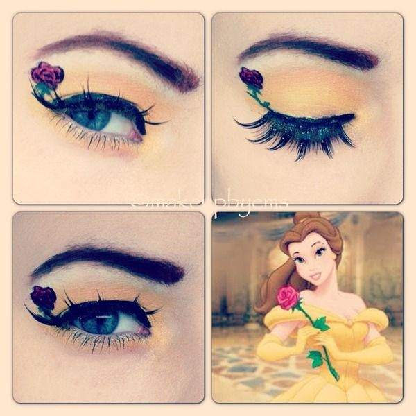 would be perfect for my wedding makeup just minus the rose