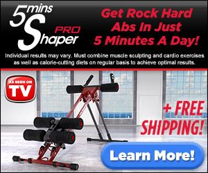 The best abs machine! 5 Minutes Shaper Pro Abs Exercise Machine