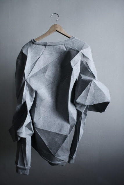 I like my clothes with some geometry to them...