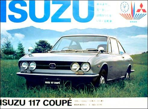 Car: Isuzu 117 XD Coupe
