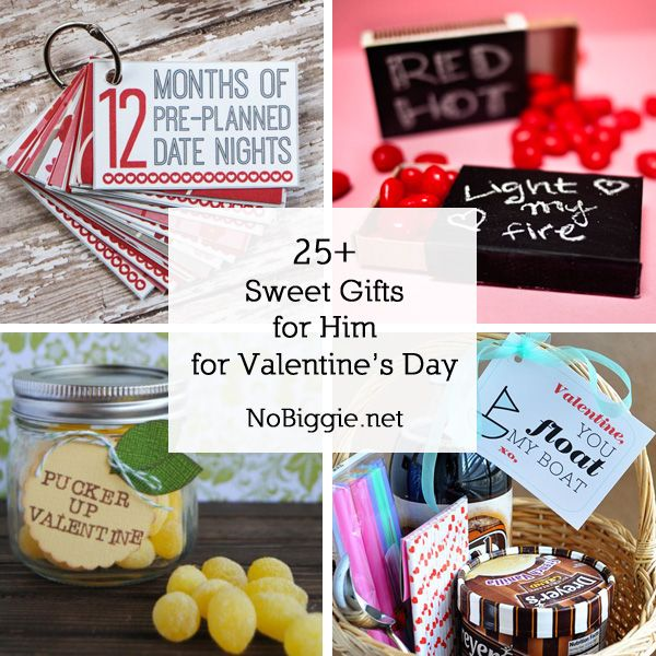 25 sweet gifts for him for valentine 39 s day valentines for Valentines day gifts for him ideas