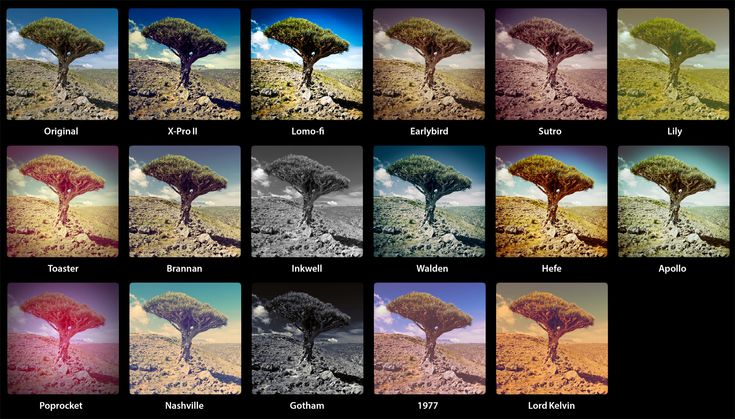 Awesome 16 different style of editing.