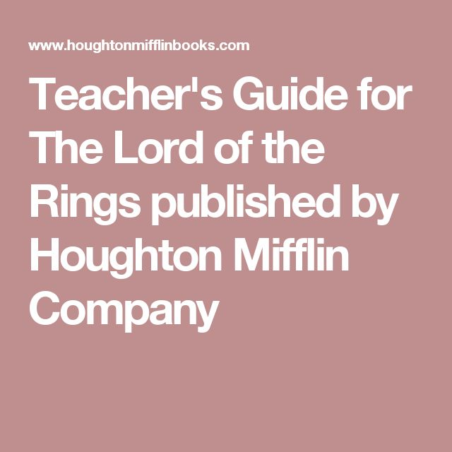 Sparknotes Fellowship Of The Ring Book  Chapter