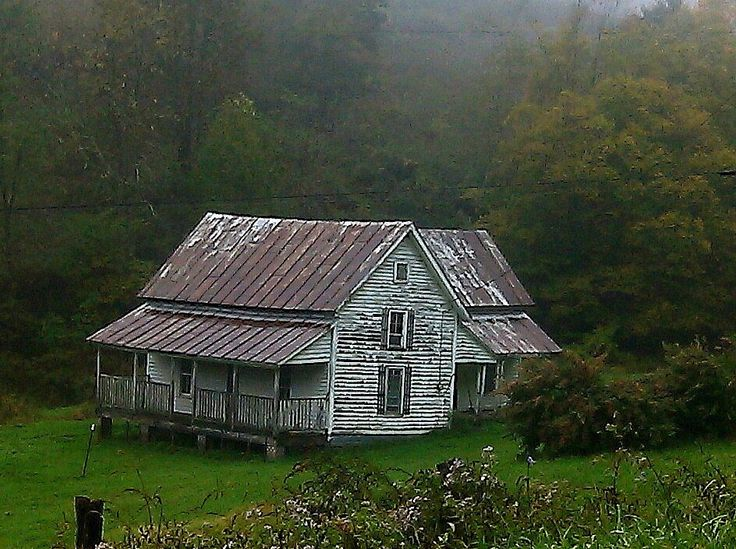 Old Appalachian Mountain homestead.