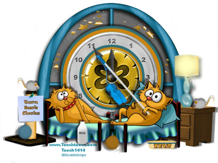 Don't Forget To Turn Back Your Clocks!
